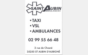 Saint Aubin Ambulances